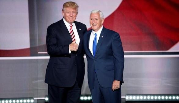 Mike Pence acepta el 'encargo' de Donald Trump
