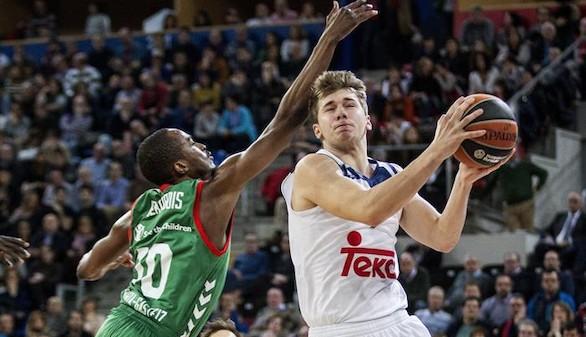 Euroliga. Con Doncic, el Madrid levanta hasta el público rival