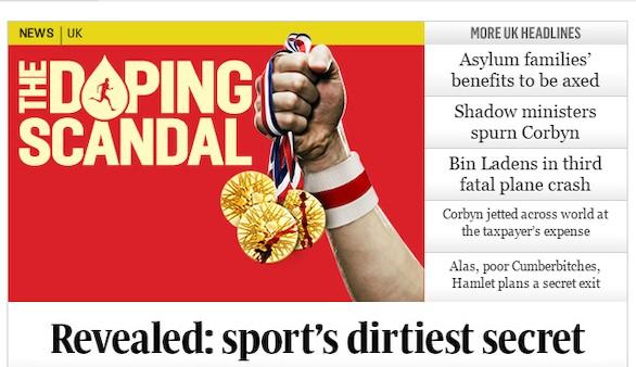Un informe sobre dopaje masivo sacude al atletismo