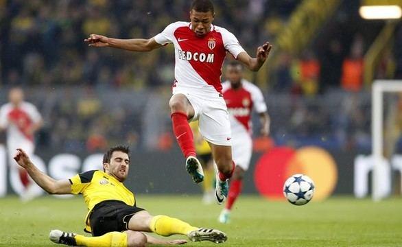 Mónaco y Dortmund se divierten y dejan todo para la vuelta |2-3