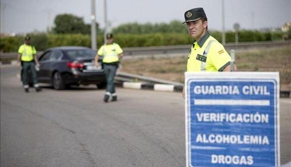 'Cazados' casi 2.500 conductores con alcohol o drogas en una semana de controles
