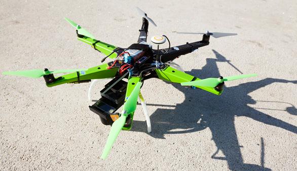 Drones para mejorar la vida de los alérgicos al polen, un proyecto desde Canarias