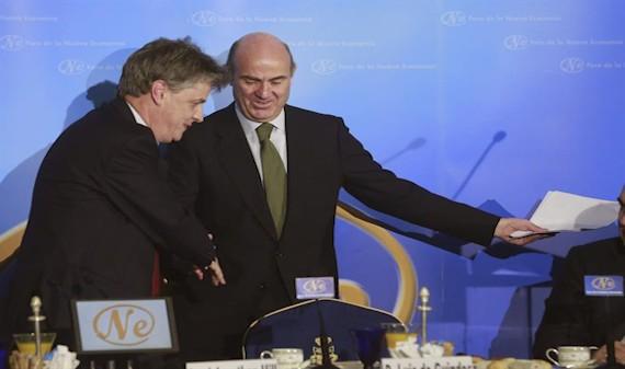 Bruselas apoya a De Guindos como presidente del Eurogrupo