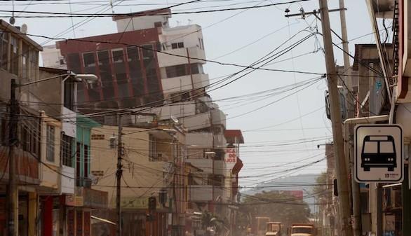 Ecuador sufre un nuevo terremoto de 6,1 grados