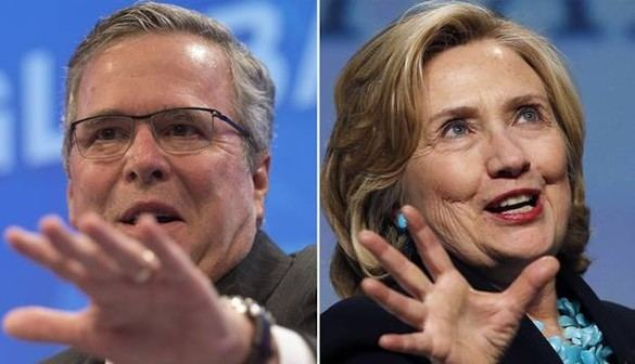 ¿Quiénes son los candidatos de EEUU que más recaudan?