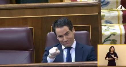 Agrio cara a cara entre Iglesias y García Egea: