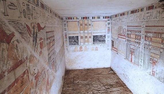Egipto descubre las tumbas de dos sacerdotes con 4.200 años de antigüedad
