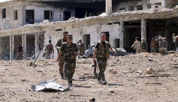 Las fuerzas sirias avanzan en Alepo y cercan barrios rebeldes