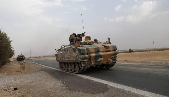 Turquía intensifica su presencia militar en el norte de Siria