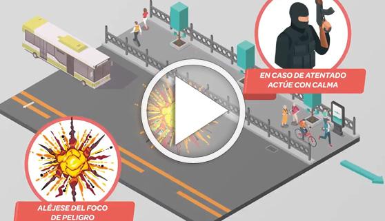 Vídeos virales. En caso de atentado, no te hagas el muerto