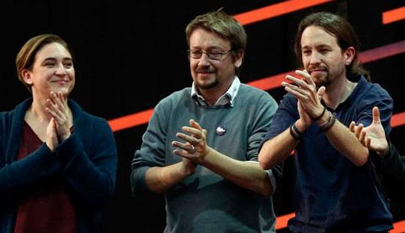Podemos se hace con el voto independentista en Cataluña y País Vasco