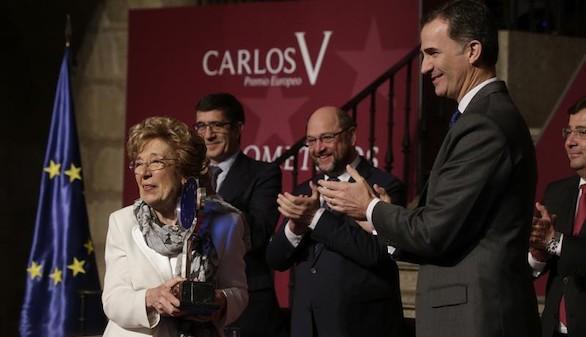 El Rey entrega X Premio Carlos V a la profesora Sofia Corradi