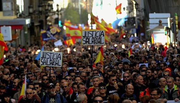 Policía y Guardia Civil piden igualdad salarial con las autonómicas