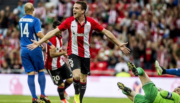 El Athletic encarrila el pase en el debut soñado de Eraso