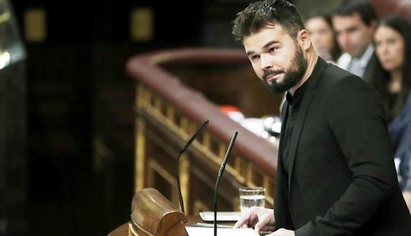 Indignación en el PSOE por las graves acusaciones de Rufián