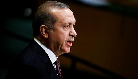 Erdogan acusa a Estados Unidos de enviar armas a los kurdos
