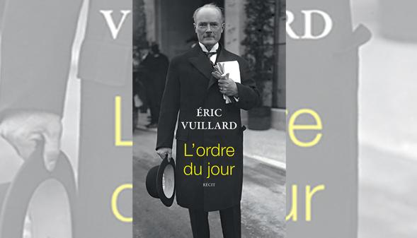 Éric Vuillard gana el Premio Goncourt por L'ordre du jour | Lea un fragmento