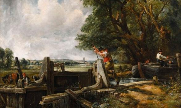 A subasta otra versión de 'La esclusa' de Constable, pero esta vez sin polémica
