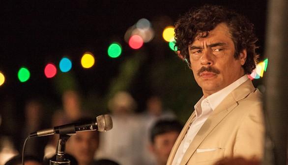 Escobar: Paraíso perdido, el guante de Benicio del Toro