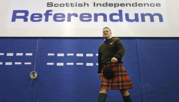 El Parlamento escocés pide celebrar un segundo referéndum