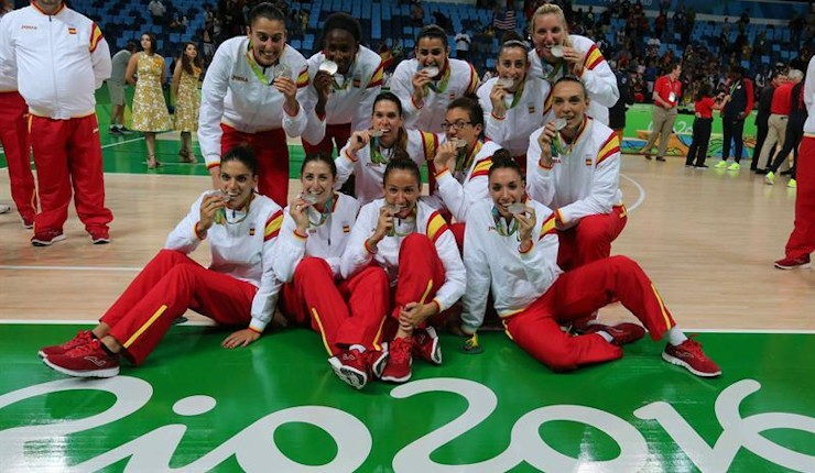 Histórica medalla de plata del baloncesto femenino