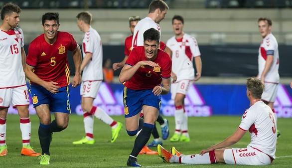 España se luce ante Dinamarca preparando la Eurocopa sub21 |3-1