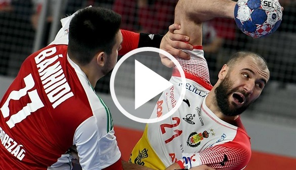 Europeo de balonmano. España tumba a la difícil Hungría y pasa de ronda | 25-27