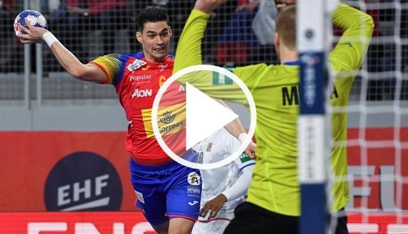 Europeo de Balonmano. España debuta acribillando a los checos | 32-15