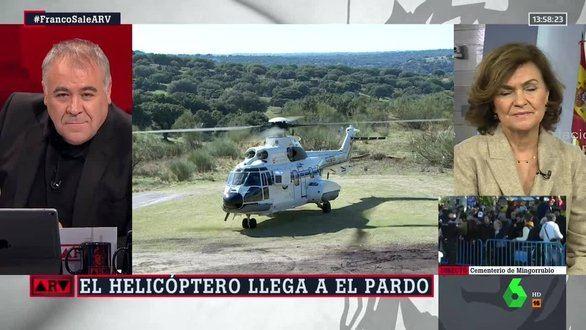 La exhumación de Franco en Al rojo vivo, récord histórico