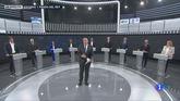 Comienzo del debate a nueve entre los candidatos a las elecciones europeas del 26 de mayo.