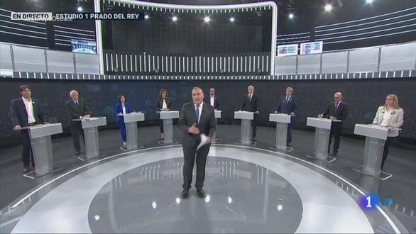 El debate de las elecciones europeas, lo menos visto de la noche