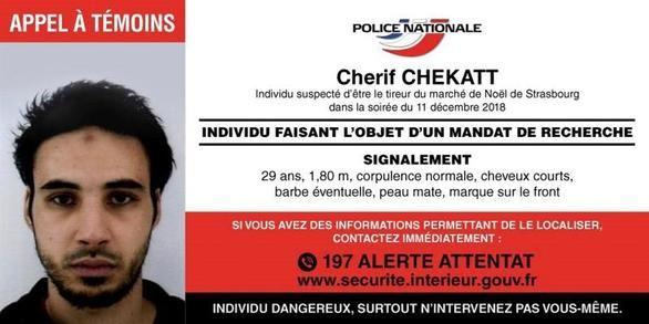 El terrorista de Estrasburgo, abatido