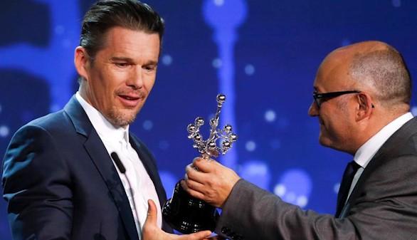 El Premio Donostia corona a Ethan Hawke: