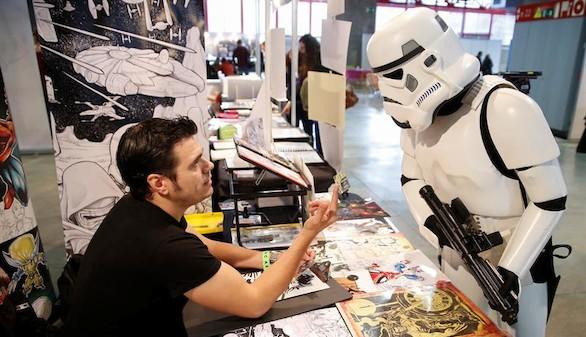 Expocómic 2015: En una galaxia muy, muy cercana... Star Wars en Madrid