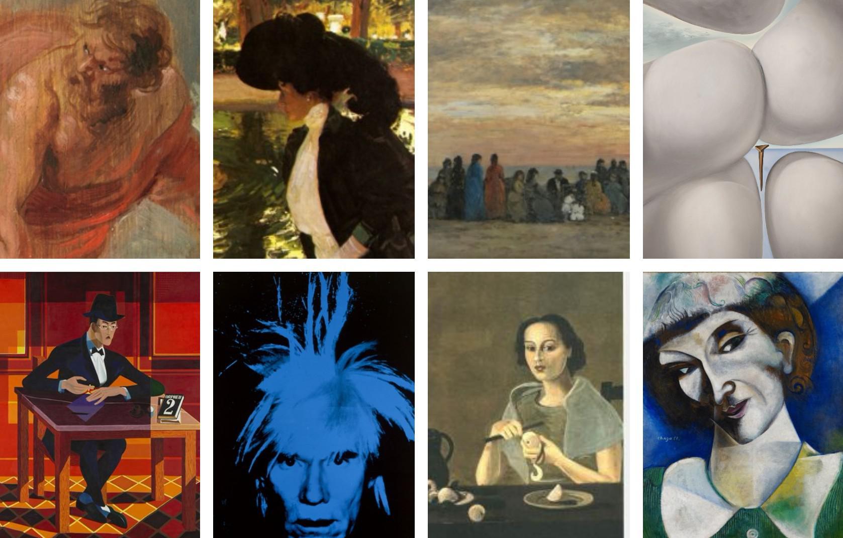 Rubens, Sorolla o Warhol protagonizan las exposiciones de 2018