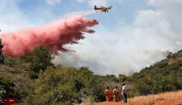 Unas 2.000 hectáreas quemadas en los incendios de Bolbaite y Carcaixent