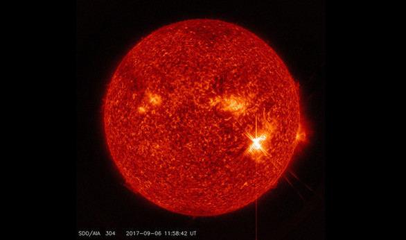 El Sol lanza el fogonazo más potente de los últimos 14 años