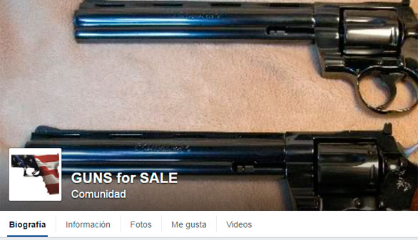 Facebook e Instagram prohíben la compraventa de armas en sus plataformas