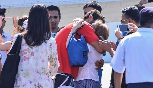 Los españoles rescatados en Malasia: 'Nunca perdimos la esperanza'