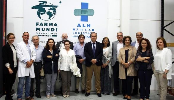 El Comité Directivo del Consejo General de Farmacéuticos visita Farmamundi