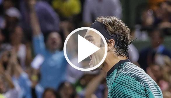 Marters de Miami. Federer sufre pero habrá nueva final con Nadal | 7-6/6-7/7-6