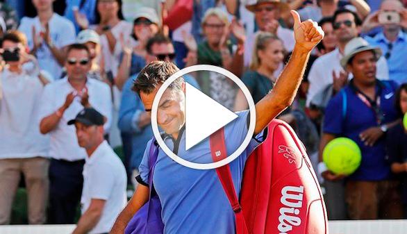 ¿Juega al despiste Federer de cara a Wimbledon tras caer ante un cuarentón?