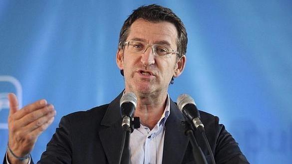 Feijóo insiste en que Rajoy es el