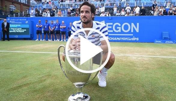 Queen's. Feliciano López toca techo y llega disparado a Wimbledon