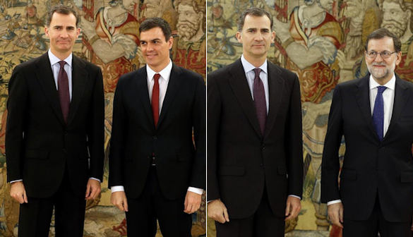 Tras la renuncia de Rajoy el Rey podría proponer a Sánchez para su investidura