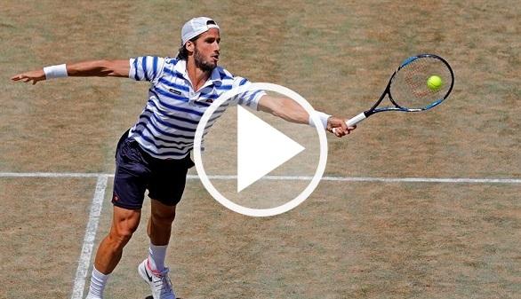 Torneo de Stuttgart. Feliciano acelera hacia Wimbledon pero no triunfa ante Pouille