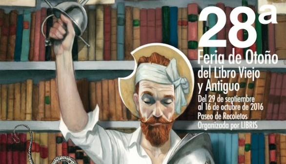 Cervantes y Shakespeare, protagonistas de la Feria del libro antiguo de Madrid