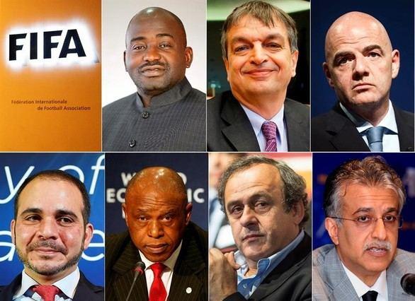 Así son los siete candidatos a relevar a Blatter al frente de la FIFA