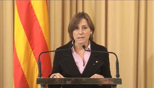 Forcadell dispone ya de un borrador de constitución catalana