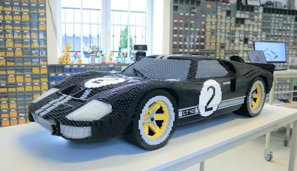 Motor. Los Ford campeones en Le Mans, ahora en versión Lego